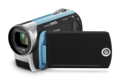 Panasonic SDR-S26 SD Card Standard Definition PAL Camcorder (Blue)