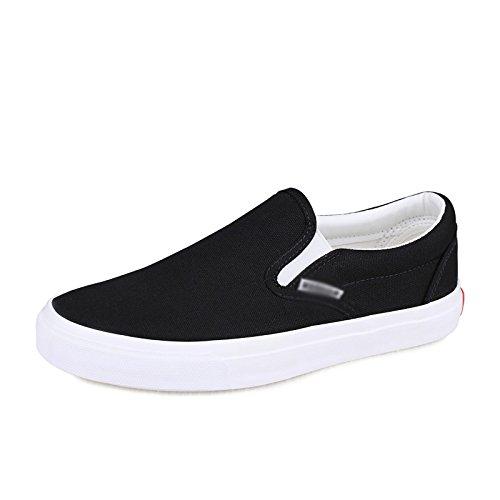 piatte Le casual legate di scarpe non traspiranti da uomo pedali Nero da scarpe a tela uomo sono scarpe con XFF scarpe scarpe scarpe pigri estive RHYwqRd
