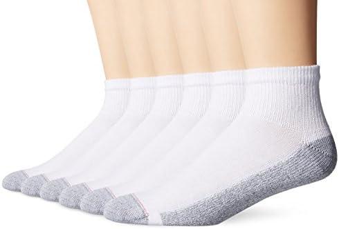 Hanes mens Comfortblend Ankle Socks, 6-pack