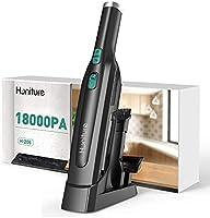 Aspirateur à Main sans Fil, Aspirateur Voiture 18000Pa,200W Aspirateur de Table Puissant avec Socle,USB Type-C Charge...