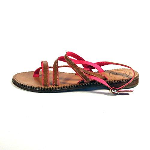 Pantallas planas o espacios Juicy Couture, con cierre de cremallera en, y pedrería para mujer. DE £110 Plata - Pink-Brown