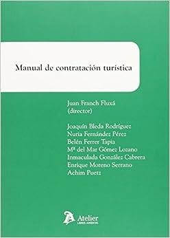 Manual De Contratación Turística por Juan Franch Fluxa epub