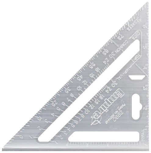 Empire Level 2990 Heavy Duty Magnum Rafter Square 7-1/2-Inch Length