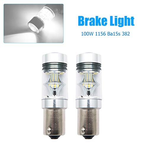 Twin Bulb Pack Straight Replacement For Any P21W // Reverse Bulbs ARH Auto Accessories P21W Cold White 50 SMD COB Reverse Light Bulbs FREE 12 Month Warranty