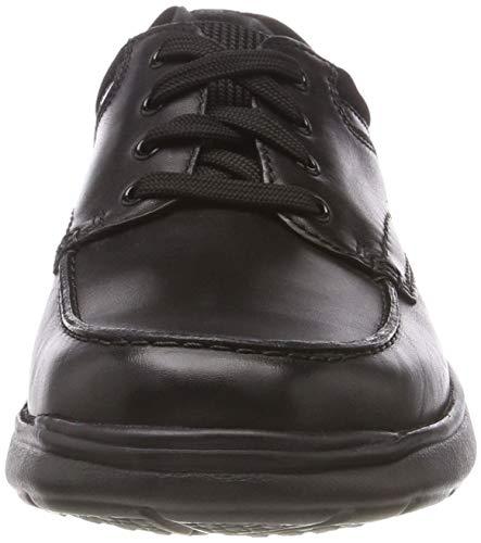 Negro Cotrell Zapatos De Hombre Edge Cordones Derby blk Clarks Para Smoothlea FwqTd8EF