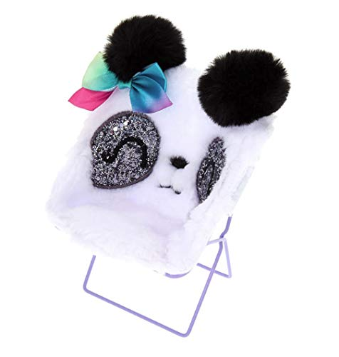 Chair Phone - Claire's Girl's Paige The Panda Papasan Chair Phone Holder - White
