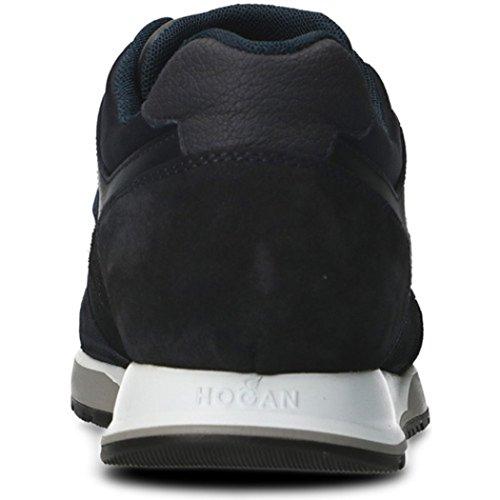 Hogan Mannen Sneaker Donkerblauw