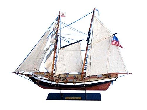 "Hampton Nautical Californian Tall Ship, 24"" from Hampton Nautical"