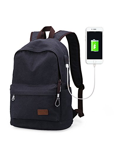 Upoalker Canvas Backpack School Daypack product image