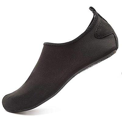 Adorllya Water Shoes Socks for Women Men Barefoot Aqua Shoes Quick Dry Slip on Hiking Swim Shoes