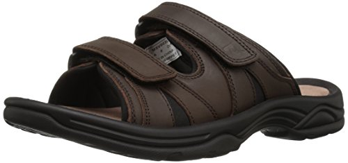 Leather Comfort Slides - 9