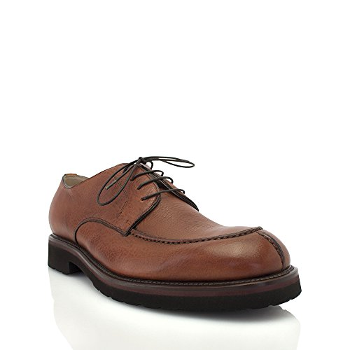nuevo! Angelo Burlinetto Brown Split Toe Lace Up Brown