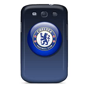 [DrS11105jtSm]premium Phone Cases For Galaxy S3/ Chelsea Fc Tpu Cases Covers Black Friday
