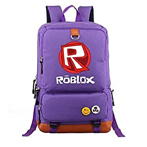 Asdfnfa Backpack, Game Peripheral Student Schoolbags Men and Women Casual Large Capacity Travel Knapsack Lightweight Computer Bag (Color : Purple)