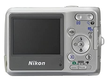 amazon com nikon coolpix l4 4mp digital camera with 3x optical rh amazon com nikon coolpix l4 user manual Nikon Coolpix S3100 Manual