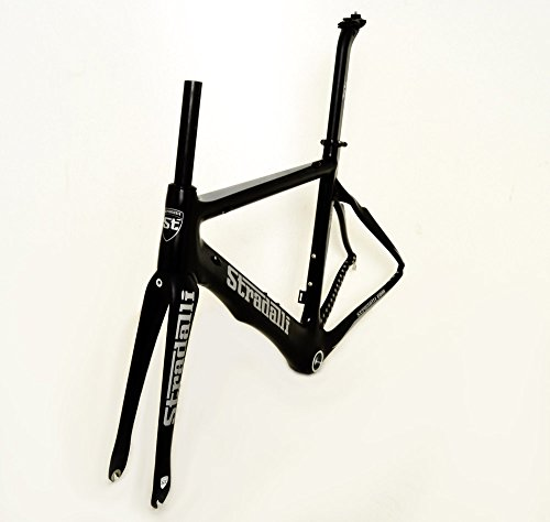 Stradalli Carbon Fiber Aero Road Bicycle Cycling Bike Frame Faenza Black