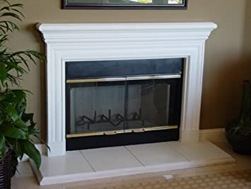 Buy Dublin Precast Fireplace Mantel and Surround in Paint Grade Gypsum: Heaters & Accessories - Amazon.com ? FREE DELIVERY possible on eligible purchases