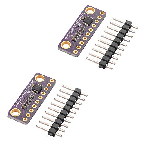 Comidox 2PCS 16 Bit 4 Channel I2C ADS1115/ADS1015 Module ADC Development  Board with Programmable Gain Amplifier for Arduino RPi