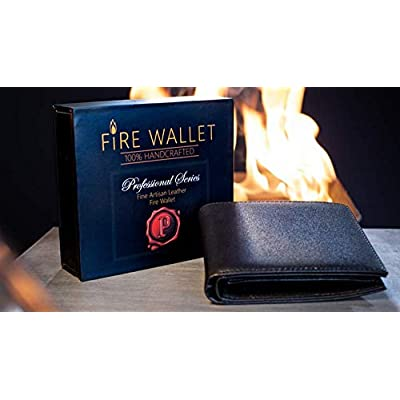The Professional's Fire Wallet (Gimmick and Online Instructions) by Murphy's Magic Supplies Inc. - Trick: Toys & Games
