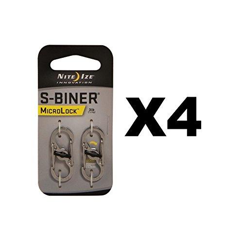 2PK S-Biner Micro Lock by Nite Ize