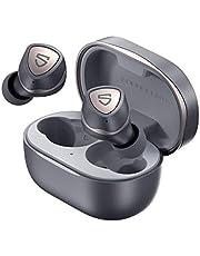 SoundPEATS Sonic trådlösa hörlurar in-ear bluetooth-hörlurar, Bluetooth 5.2 hörlurar APTX-adaptiva trådlösa hörlurar med uppslukande bas, TrueWireless Mirroring 35 timmars USB-C Mono/Stereo spelläge