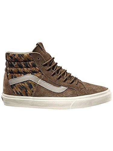 Vans SK8 Hi 46 + Italian Weave/Pig Suede Teak Mens Skate Shoes (Italian Weave/Pig Suede) eM8wzIf
