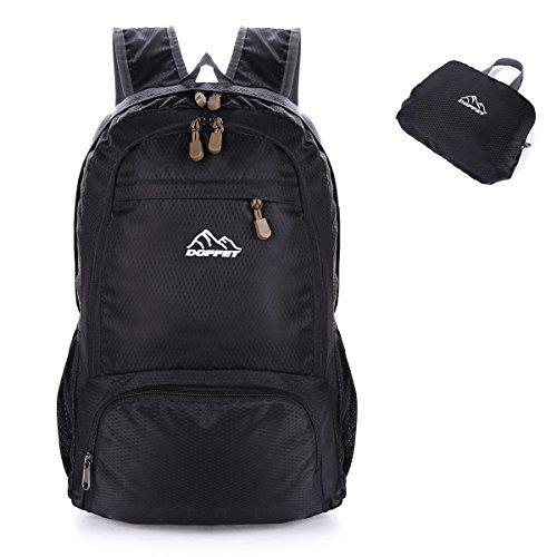 Lightweight Backpack, Doffey 25L Waterproof Packable Travel Hiking Backpack