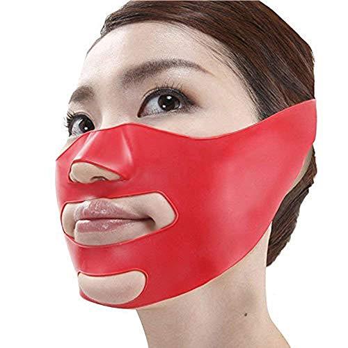 Milent 小顔矯正 マスク 小顔補正ベルト ほうれい線 リフトスリムマスク 3Dエクササイズマスク 法令線予防 抗シワ サウナマスク 美顔 フリーサイズ