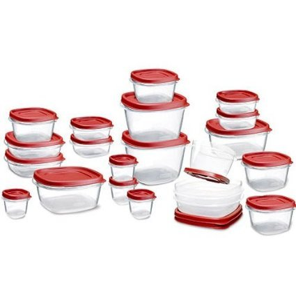 Rubbermaid Easy Find Lid Food Storage Container, BPA-Free Plastic, 42-Piece set for this tangy coleslaw recipe