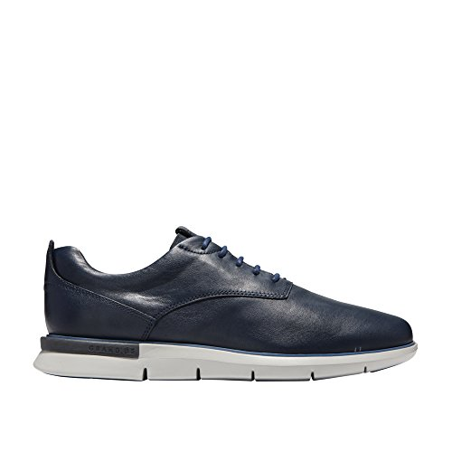 Cole Haan Mens Grand Horizon Oxford II Marine Blue/Riverside/Magnet/Vapor Grey 8.5 D - Medium (Horizon Oxford)
