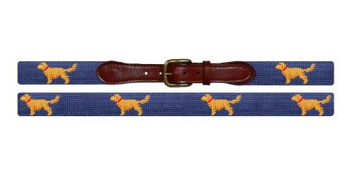 Golden Retriever Belt (Smathers & Branson Golden Retriever Needlepoint Belt, Size 42)