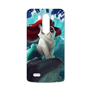 Red hair cat mermaid Cell Phone Case for LG G3
