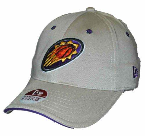 New Era Phoenix Suns Khaki Purple NBA Flexfit Hat Cap (M/L) ()