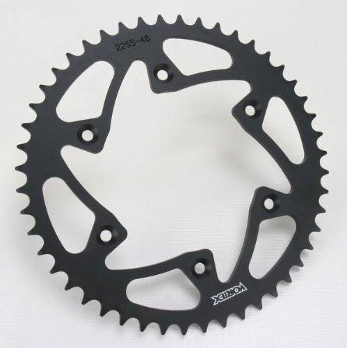 Vortex Rear Sprocket - Steel - Black - 48T, Sprocket Teeth: 48, Sprocket Position: Rear, Material: Steel 225S-48