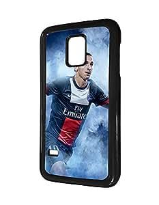 Soccer/Football Stars Players Samsung Galaxy S5 Mini (SM-G800) Funda Case for Man, Zlatan Ibrahimovic Football Stars Samsung Galaxy S5 Mini Funda Case Vogue Bumper
