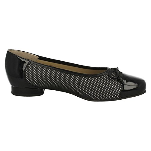 Style Fitting Ballet Shoes Black Equity Ladies Black Dot Terri Wide Polka qgIwP