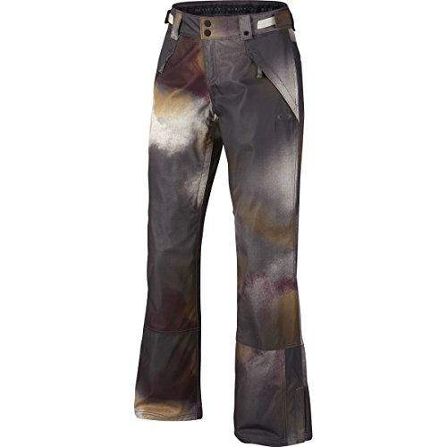 Oakley Womens Stickline Biozone Insulated Snowmobile Pants, Arctic White Haze, Large (Womens Snowmobile Pants)