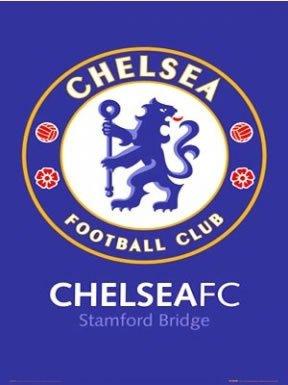 Chelsea FC Crest Poster