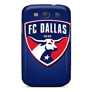 KerryParsons Samsung Galaxy S3 High Quality Cell-phone Hard Covers Unique Design Trendy Fc Dallas Skin [BdS16793yBQl]