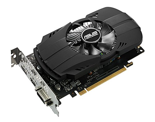 ASUS Geforce GTX 1050 2GB Phoenix Fan Edition DVI-D HDMI DP 1.4 Gaming Graphics Card (PH-GTX1050-2G) Graphic Cards