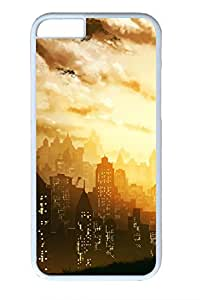 City And Boy Slim Soft Cover for iPhone 6 Plus Case ( 5.5 inch ) PC White Cases by lolosakes