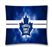 NHL Teams Throw Pillow Covers, Ice Hockey Fans Throw Pillow Cases For Sports Fans, Toronto Maple Leaf Square D