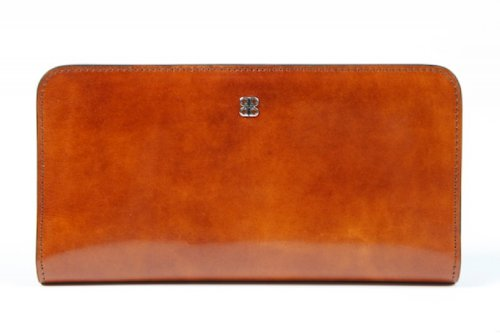 Bosca Women's Checkbook Clutch Amber Clutch by Bosca