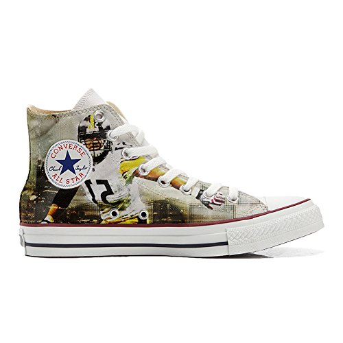 Converse All Star Zapatos Personalizados Unisex (Producto Artesano) Football