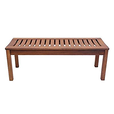Achla Designs Backless Bench, 4-Foot - OFB-08 - Make sure this fits                by entering your model number. 48-inch w by 15 3/4-inch d by 17-inch h Natural oil finish - entryway-furniture-decor, entryway-laundry-room, benches - 41KSHRjRUGL. SS400  -