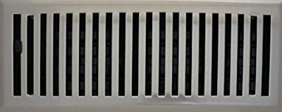 Contemporary Floor Register (Vent Cover) with Damper (HVAC VENT COVER)