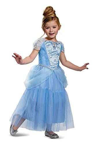 Cinderella Deluxe Disney Princess Cinderella Costume, Small/4-6X