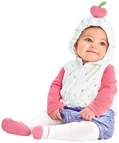 Carter's Baby Girls' Costumes, Cupcake, (Halloween Cupcake Costume Baby)