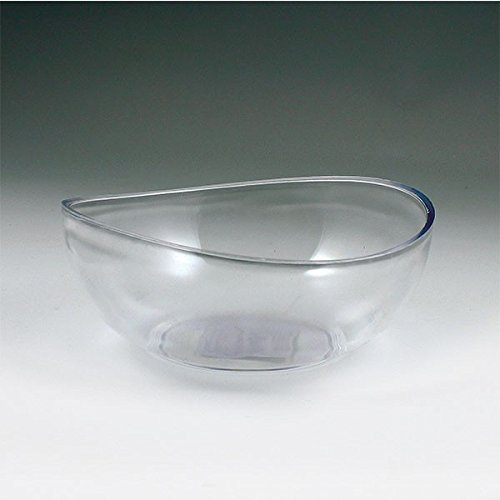 3-Quart Clear Plastic Round Crystalware Icelandic Serving Bowl 1ct
