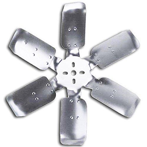 Flex-a-lite 2217 17 6-Blade CCW Belt Driven Flex Fan Silver